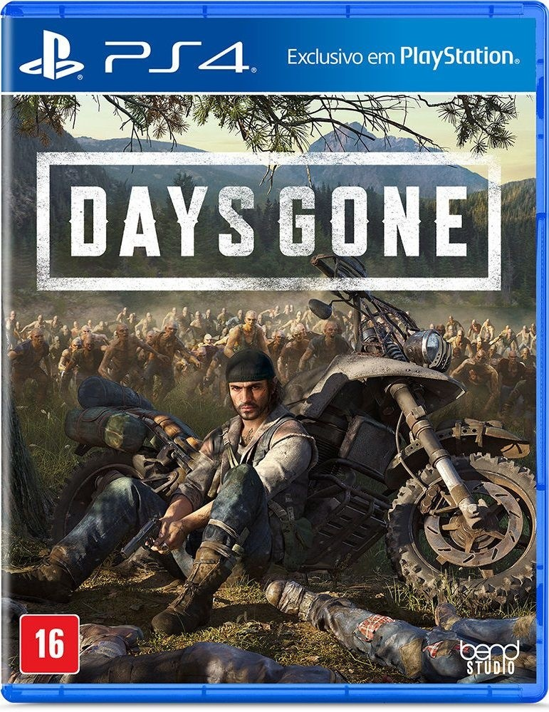 Game Ps4 Days Gone