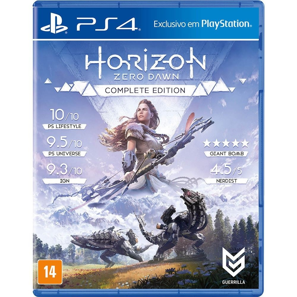 Game Ps4 Horizon Zdown Comp Ed