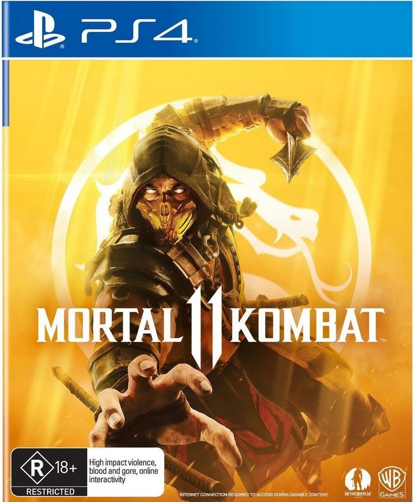 Game Ps4 Mk 11