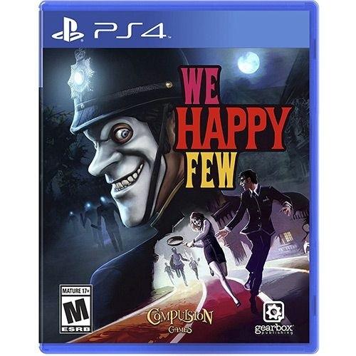 Game Ps4 We Happy Few