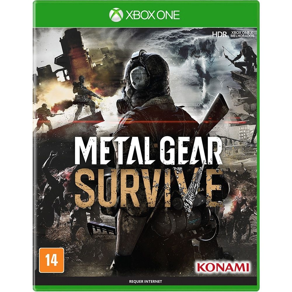 Game Xbox One Metal Gear Survive