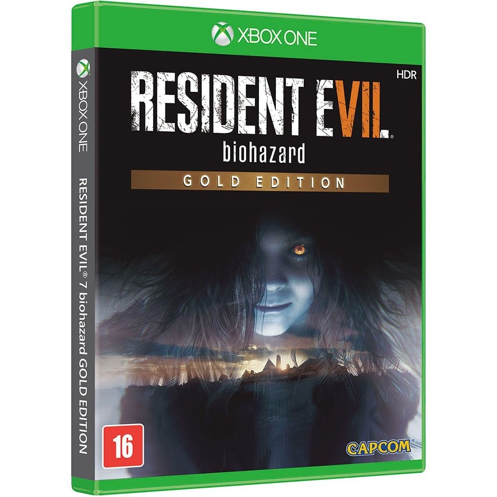 Game Xbox One Resident Evil 7 Gold Edition