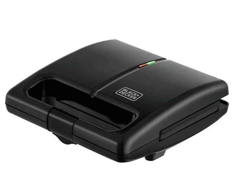 GRILL E SANDUICHEIRA ELETRICA GS750B 110V BLACK & DECKER