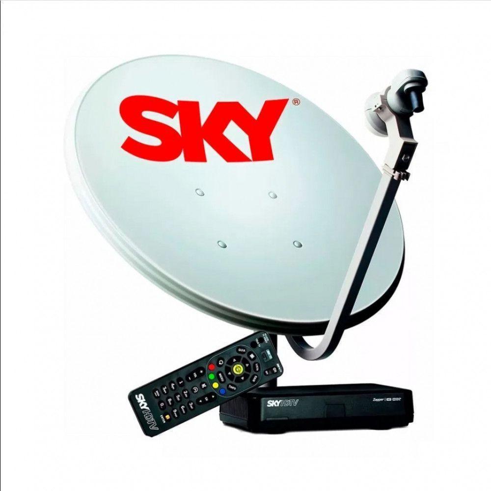 Kit Sky Conforto Hd 60cm