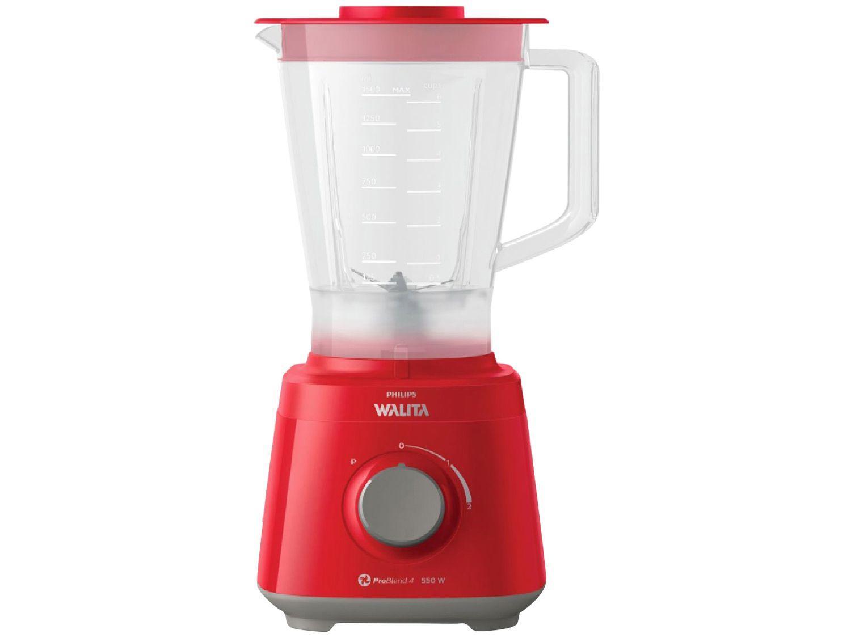 Liquidificador Philips Walita Daily RI2110/40 2L - Vermelho 2 Velocidades 550W
