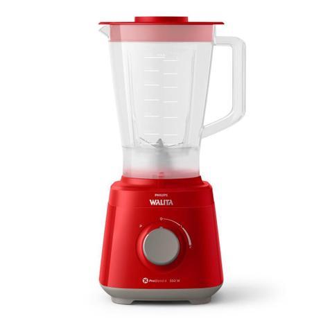 Liquidificador Philips Walita Daily RI2110 com 2 Velocidades 550W Vermelho
