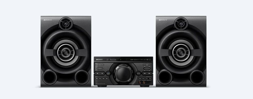Mini System Sony 1600W MHCM60D - Bivolt