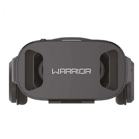 Óculos 3D Realidade Virtual com Headphone Warrior JS086 MULTILASER