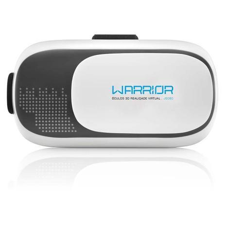 Óculos Warrior Realidade Virtual 3D Gamer JS080 MULTILASER