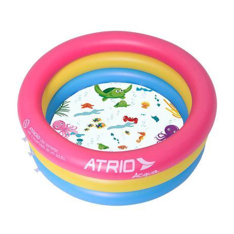 Piscina Inflável Infantil Circular Átrio - ES302