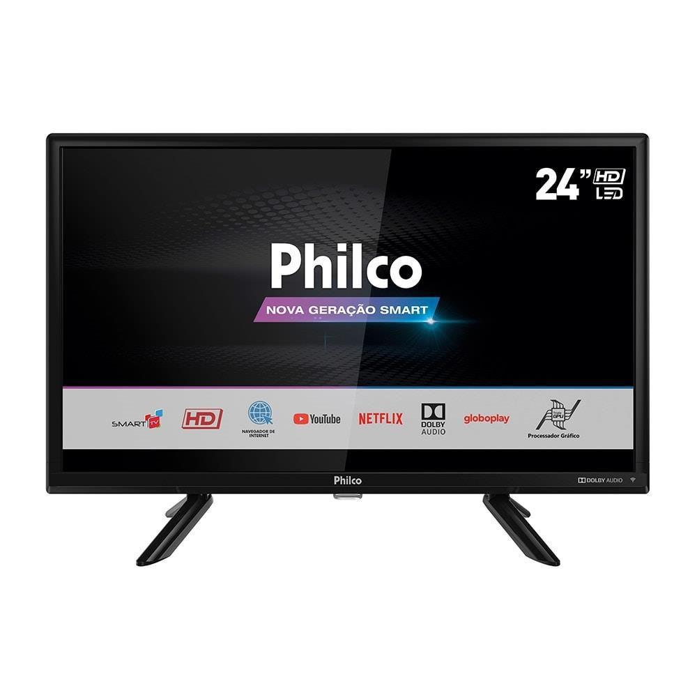 "Smart TV Philco PTV24G50SN 24"", HD, HDMI, Netflix"