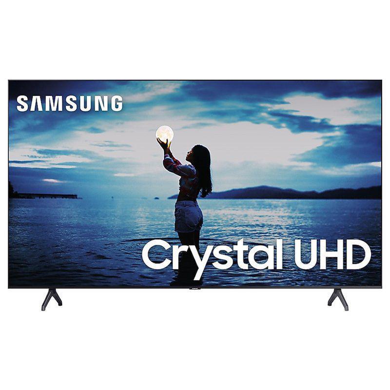 "Smart TV Samsung 65"" TU7020 Crystal UHD 4K 2020 Bluetooth Borda ultrafina Cinza Titan"