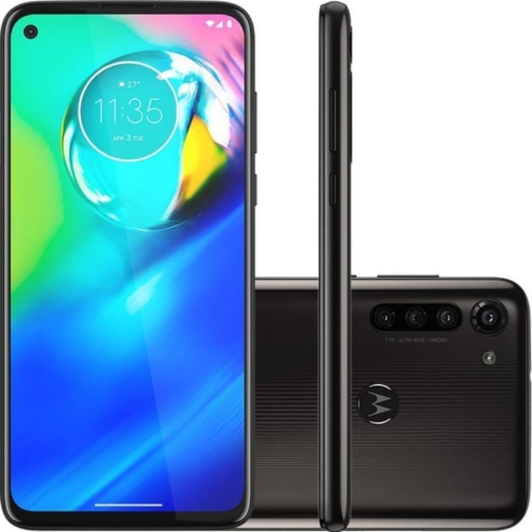 Smartphone Moto G8 Power 64GB Dual Chip Android 6.4 Snapdragon 665 4G Câmera 16MP + 8MP + 8MP Preto - Motorola