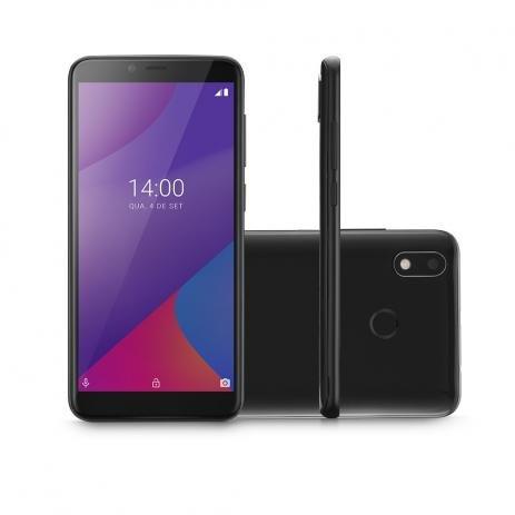 Smartphone Multilaser - P9107 G Max 4G 32GB Tela 6.0 Pol. Octa Core Android 9.0 GO - Preto