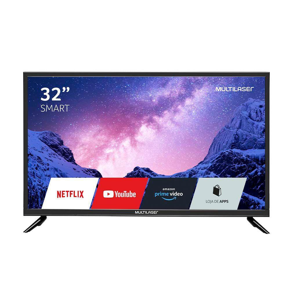 Tela 32 Polegadas HD Com Função Smart E Wifi Integrado - TL020 - Multilaser