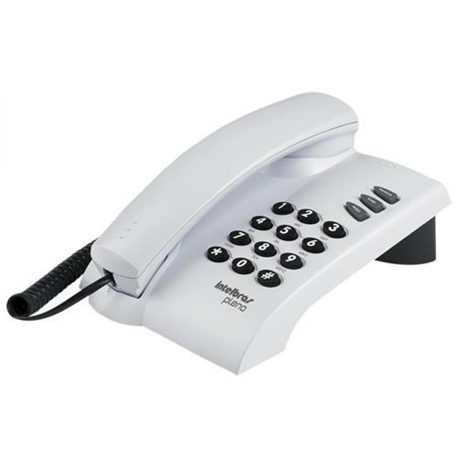 Telefone Intelbrás Pleno Cinza Artico - 4080055 - Intelbras