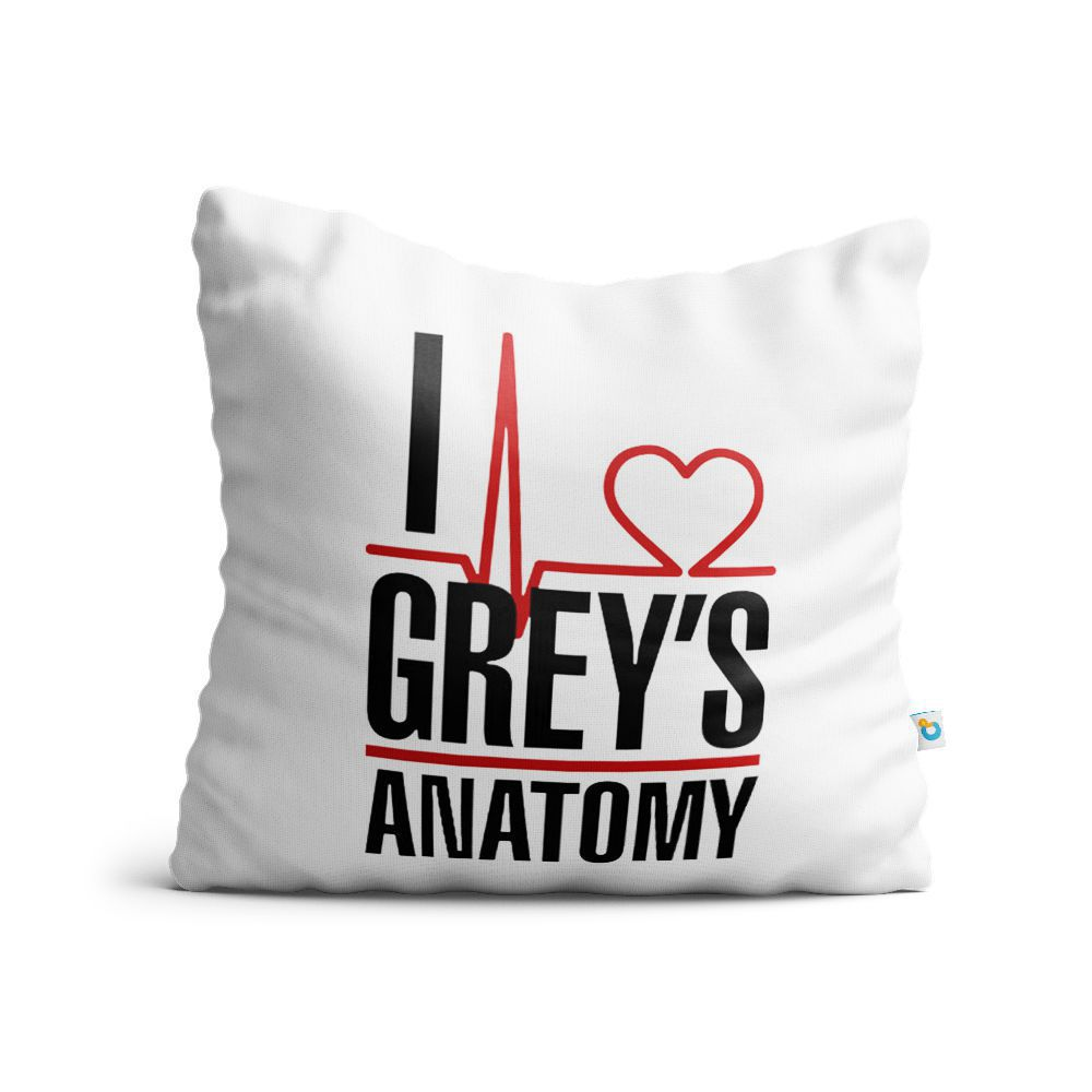 Almofada I Love Grey'S Anatomy