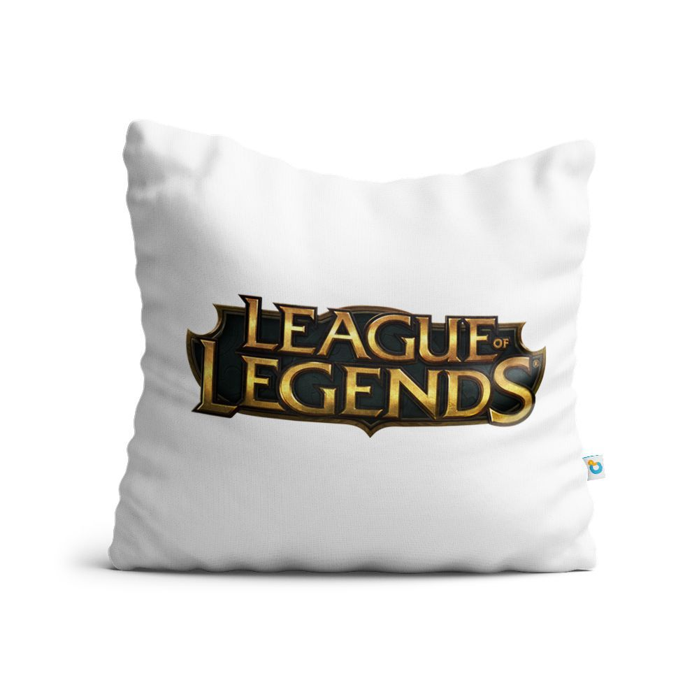 Almofada League Of Legends Logo