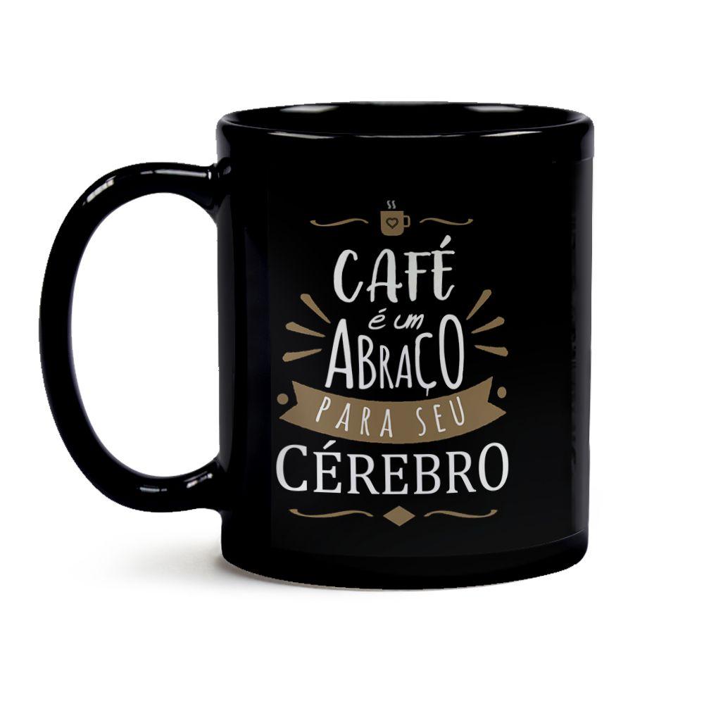 Caneca Café É Um Abraço