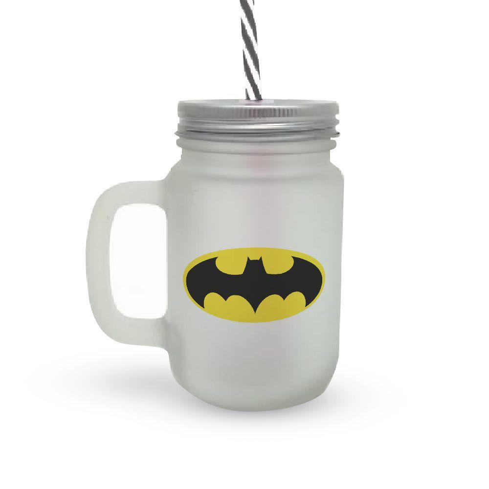 Caneca Canudo Batman