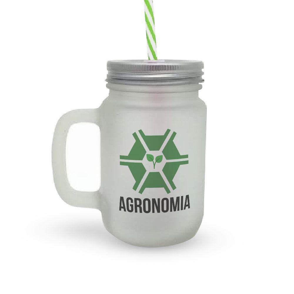 Caneca Canudo Profissão Agronomia
