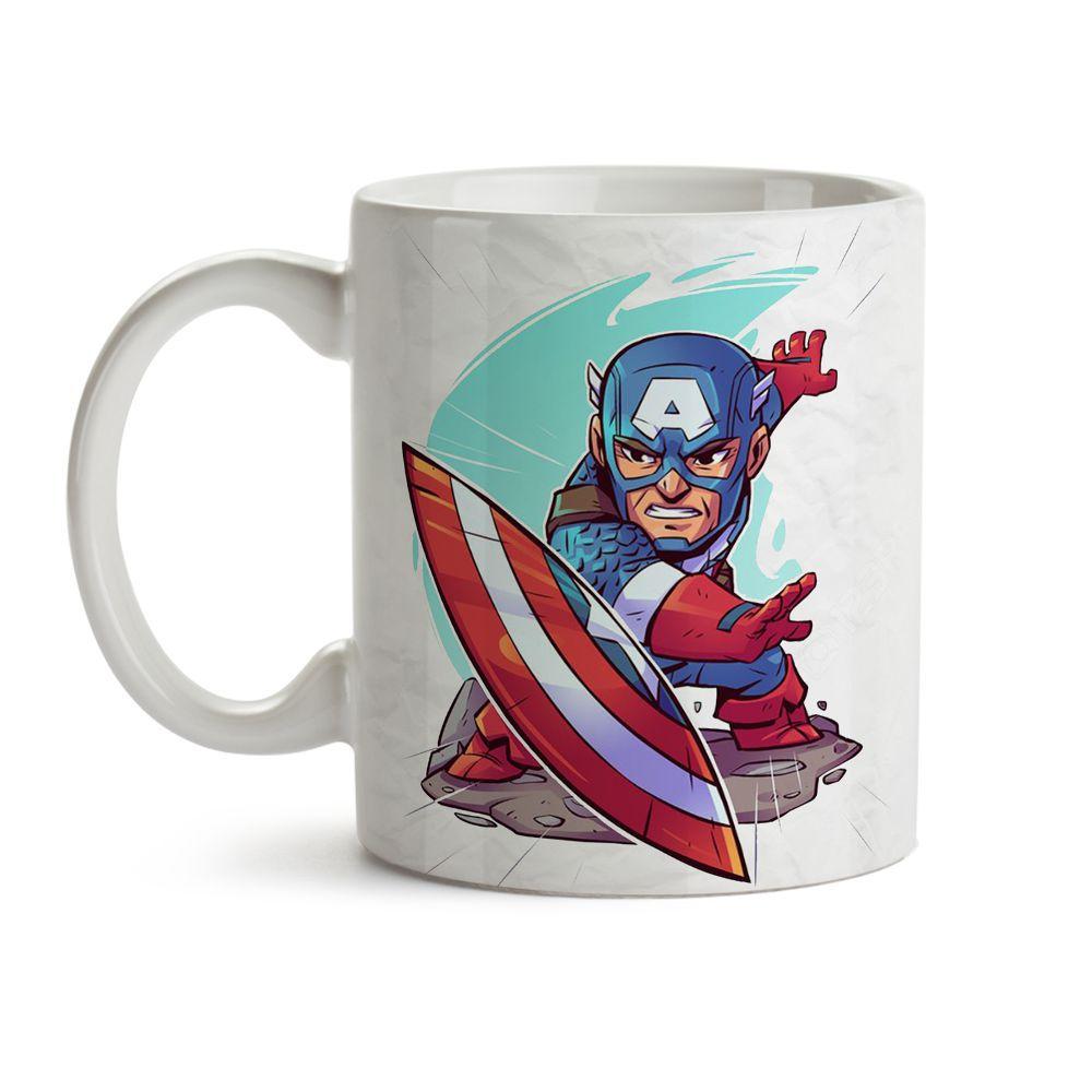 Caneca Capitão América 2