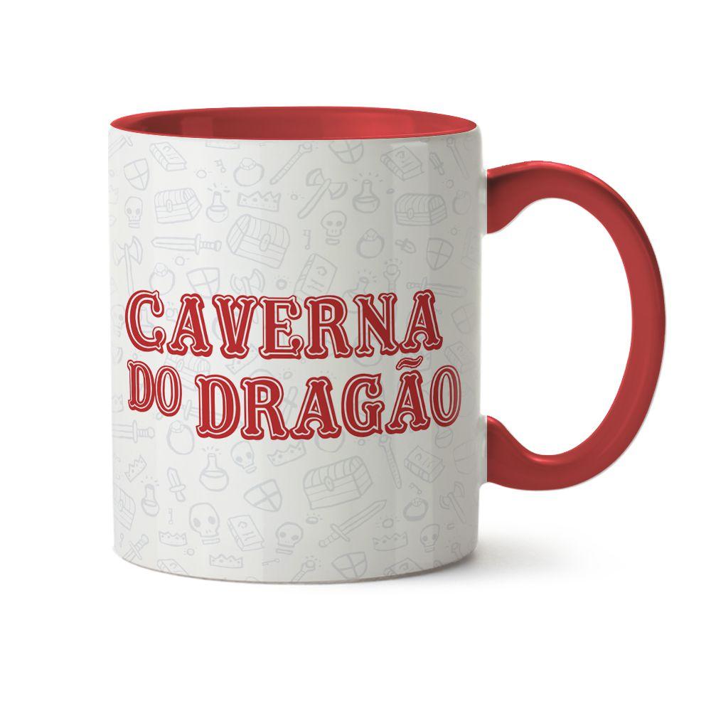 Caneca Caverna Do Dragão