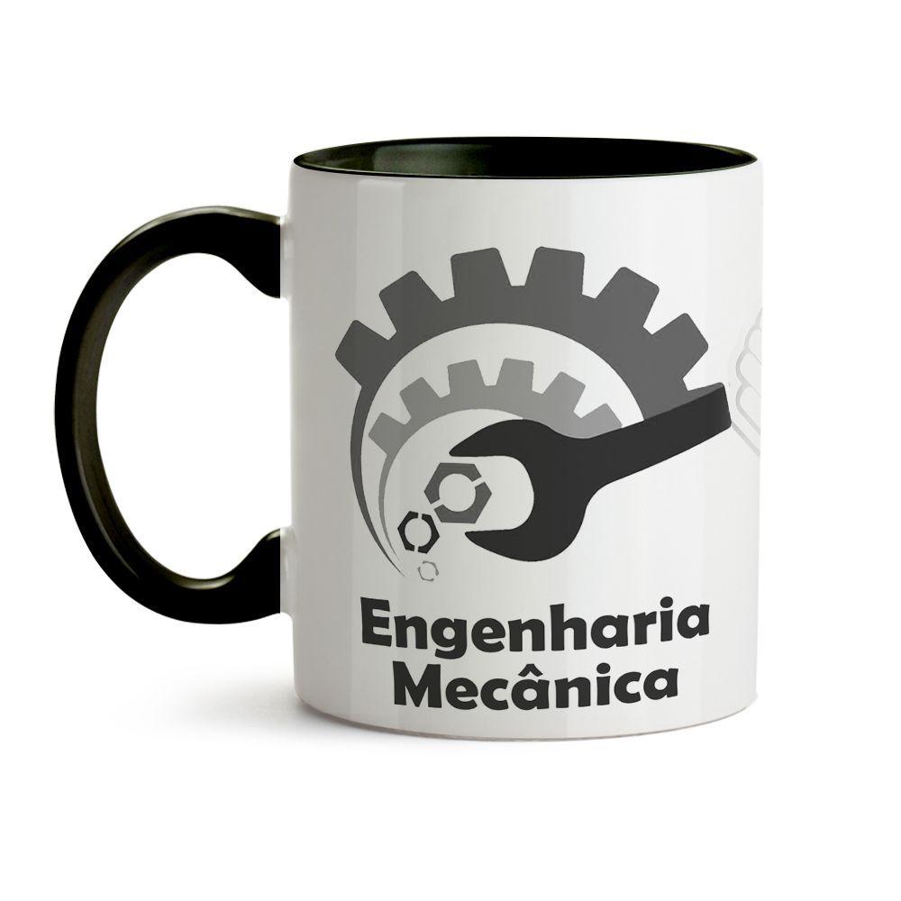 Caneca Engenharia Mecânica Masculina