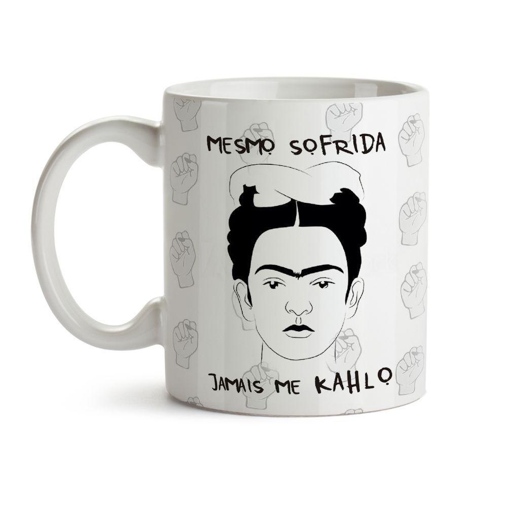 Caneca Girl Power Jamais Me Kahlo