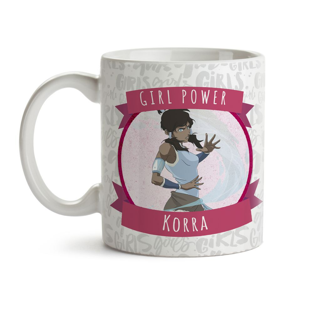 Caneca Girl Power Korra