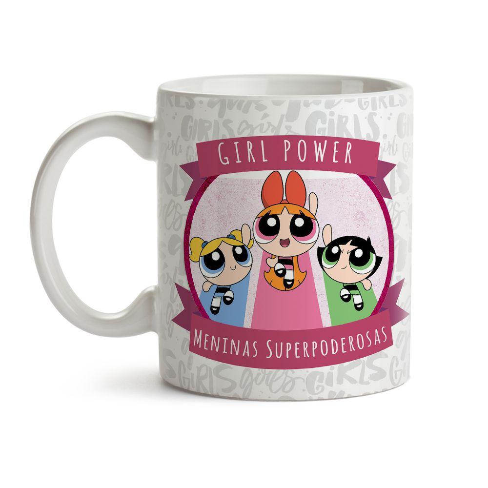 Caneca Girl Power Meninas Superpoderosas