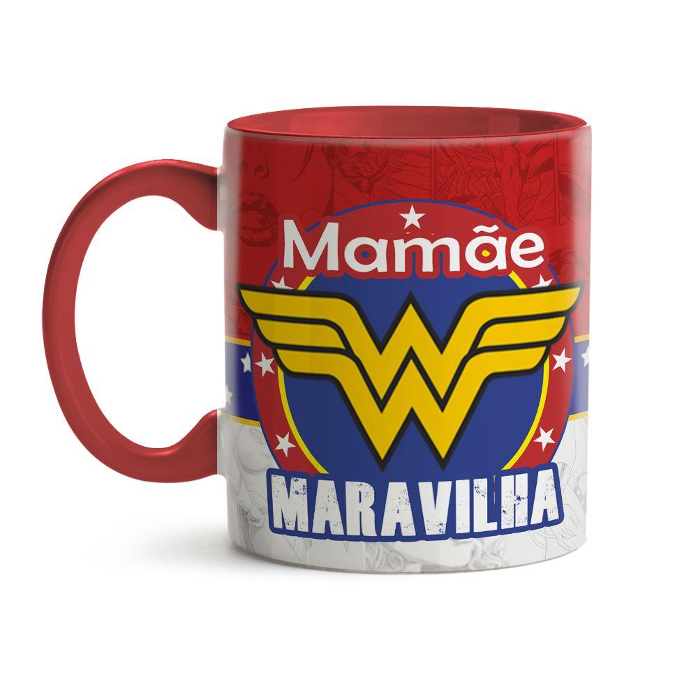 Caneca Mamãe Maravilha 02