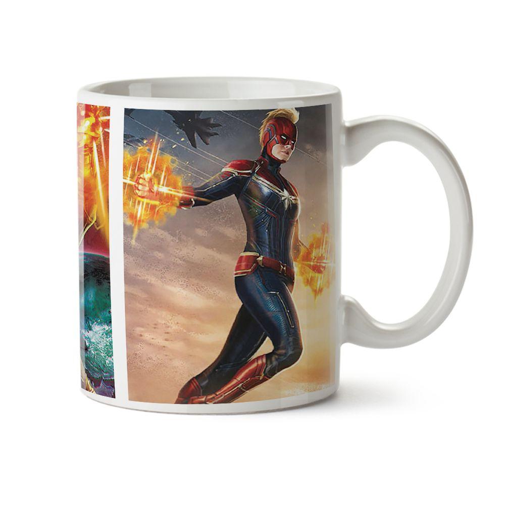 Caneca Posters Capitã Marvel 02