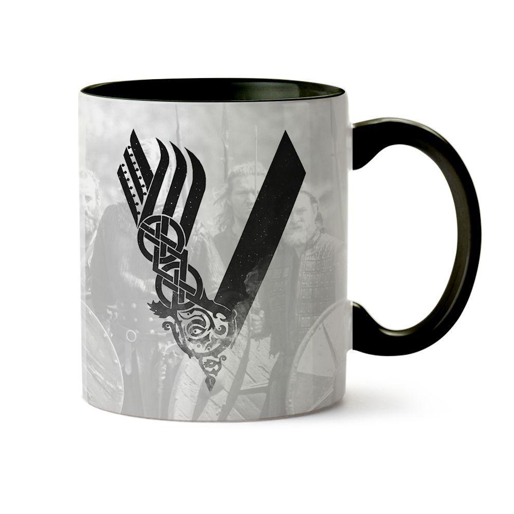 Caneca Série Vikings - Floki Black