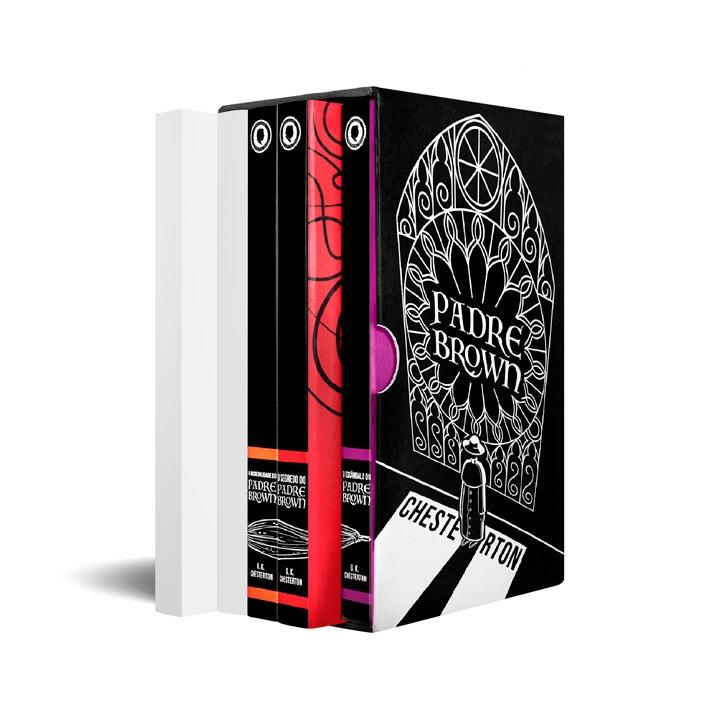 Box 3 últimos livros -  Box Padre Brown