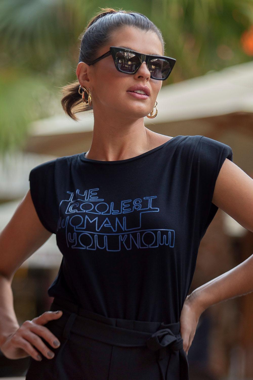 T-shirt Richini Muscle Tee Estampa