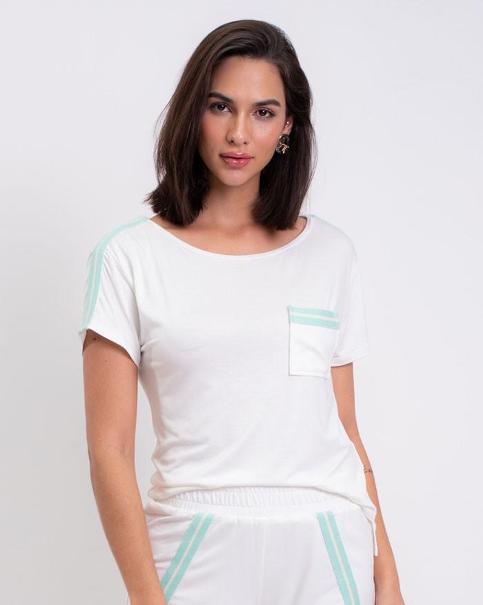 T-shirt Richini Ribana Ombro