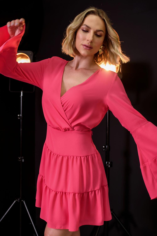 Vestido Richini Abertura Costas