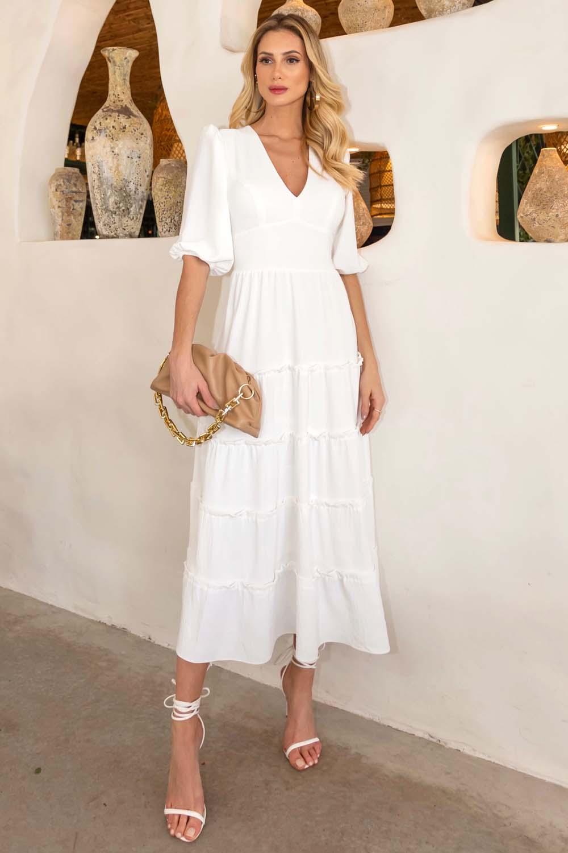 Vestido Richini Longuete Chelsea