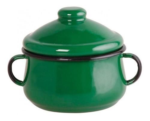 Açucareiro Esmaltado Verde - Ewel