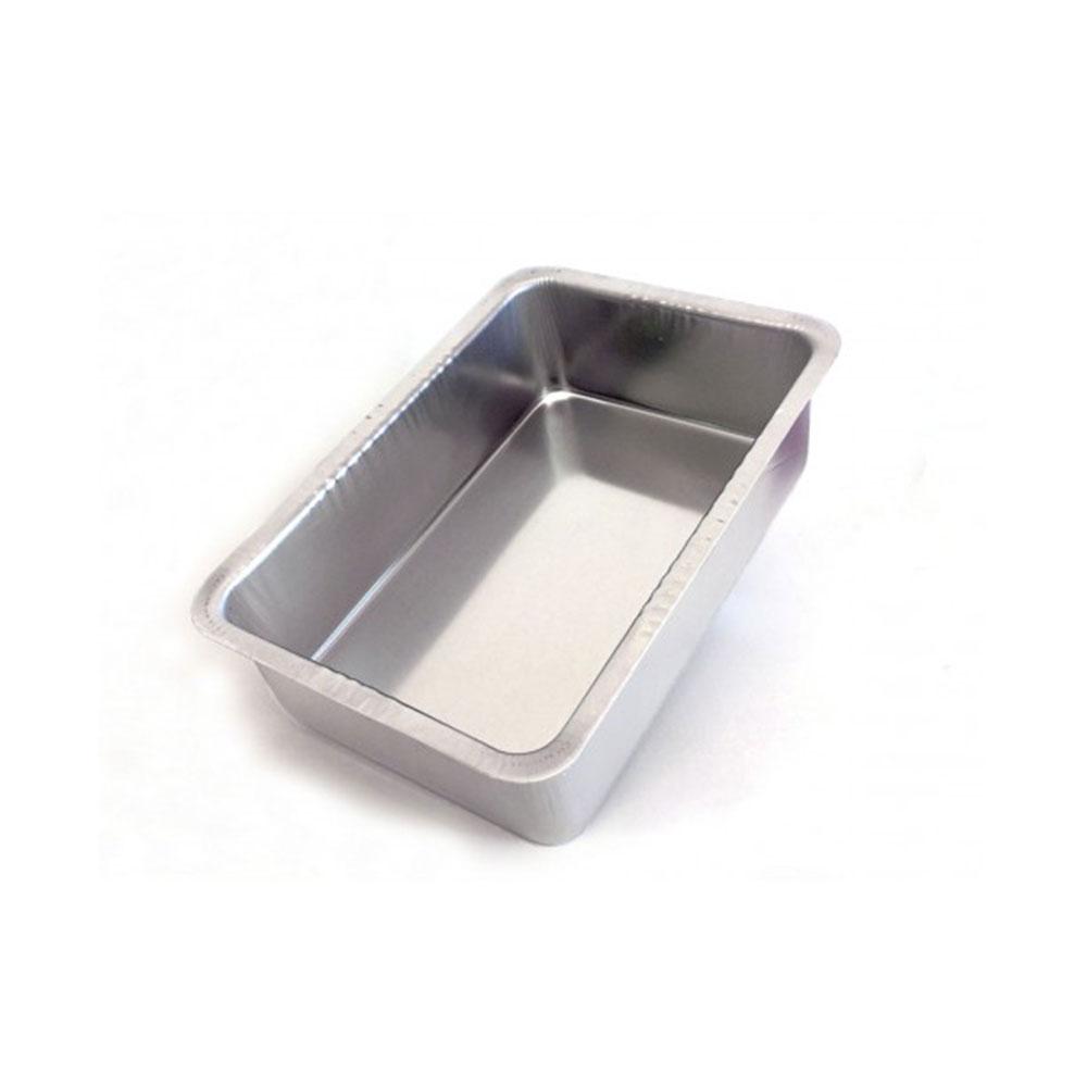 Assadeira de Aluminio Retangular Alta 01 31X21X8,5 Caparroz