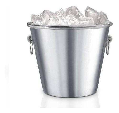 Balde Gelo Inox 2.5Litros com Pegador Kehome