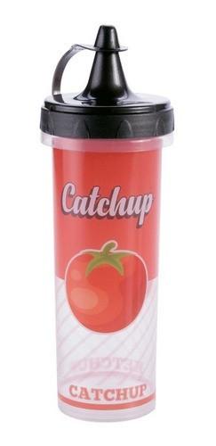 Bisnaga Ketchup Plástico 250ml Retro Plasutil