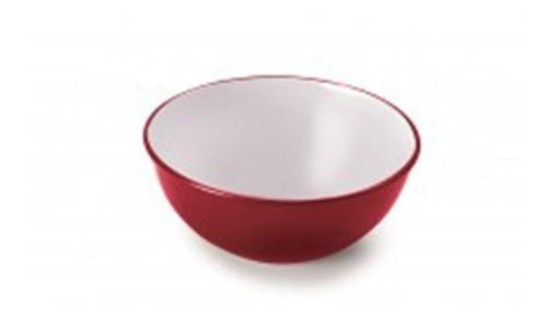 Bowl Plástico Duo 360 520ml Vermelho Plasutil