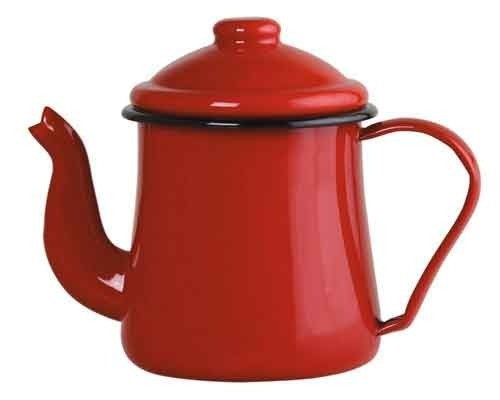 Bule esmaltado Nº12 Ewel - Vermelho