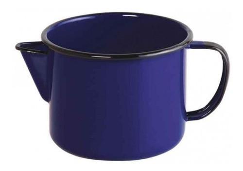Caneca esmaltada com bico N°12 Ewel - Azul