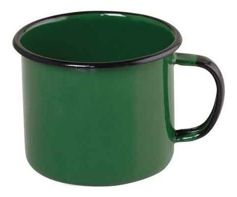 Caneca esmaltada Nº10 Ewel - Verde