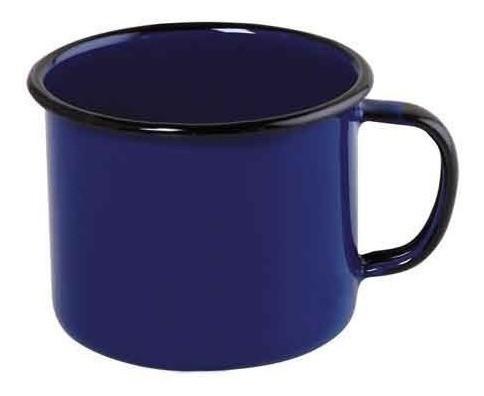 Caneca esmaltada Nº6 Ewel - Azul
