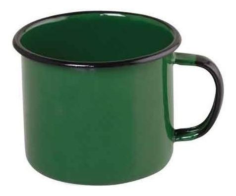 Caneca Esmaltada Nº6 Ewel - Verde