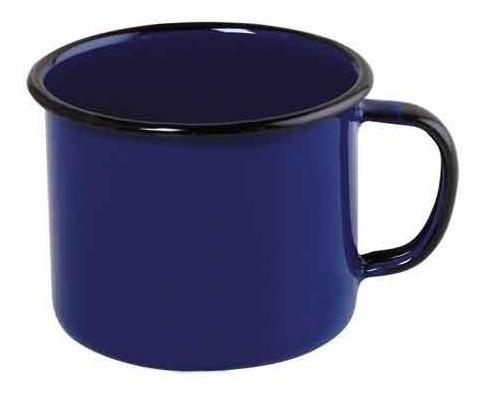 Caneca esmaltada Nº8 Ewel - Azul